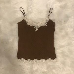 Express Lace Trimmed Camisole
